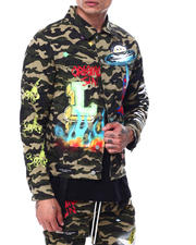 Lifted Anchors - Starlight Camo Jacket-2468957