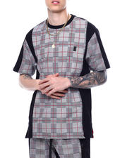 festival - JERSEY PLAID TEE-2469532