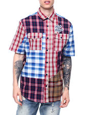 Makobi - RICH AND ROYAL PLAID SS Buttondown SHIRT-2469620