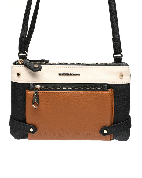 Rampage - Colorblock PU Crossbody