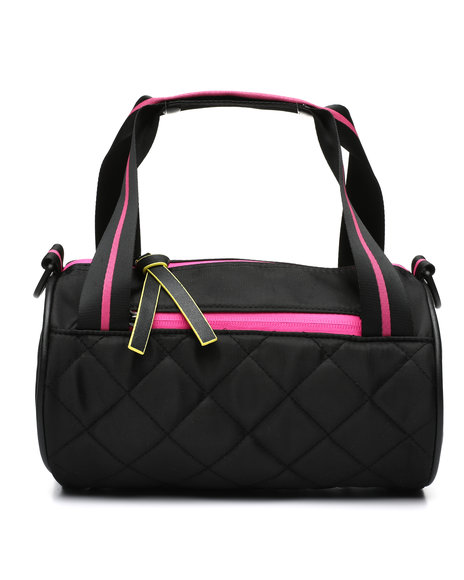 Rampage - Quilted Sporty Barrel Crossbody