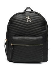 Fashion Lab - Monochrom Quilted Dome Backpack-2467389