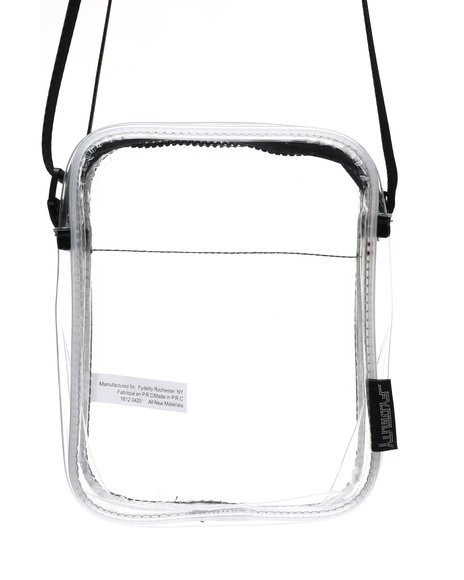 FYDELITY - Sidekick Brick Bag CRYSTAL Clear (Unisex)