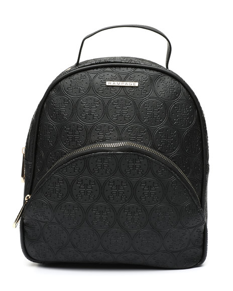 Rampage - Embossed Logo Dome Midi Backpack