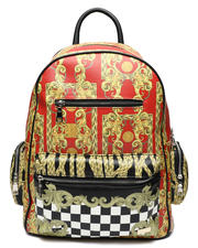 Men - Royal Check Backpack (Unisex)-2467391