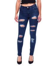 Jeans - DESTRUCTED HIGH WAIST 5 POCKET JEAN-2467767