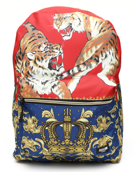 Reason - Fighting Tiger Backpack (Unisex)