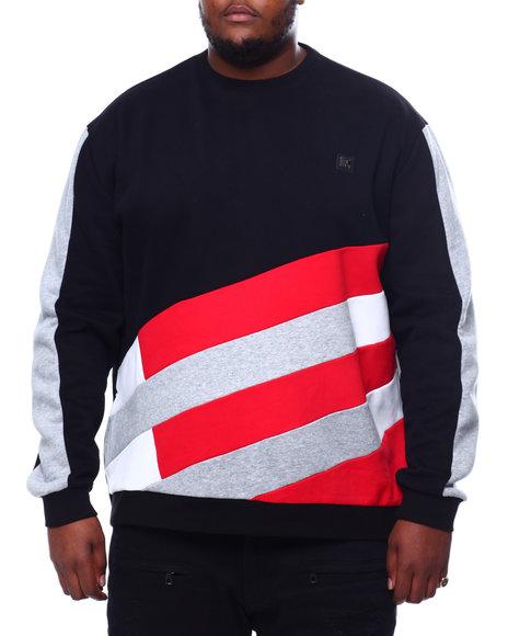 Makobi - Makobi Color Block Fleece Sweatshirt (B&T)