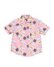 Boys - Geometrics Woven Shirt (8-18)-2469113
