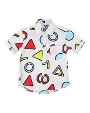 Button-downs - Geometrics Woven Shirt (8-18)-2469118