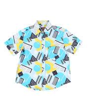 Boys - Geometrics Woven Shirt (8-18)-2469123