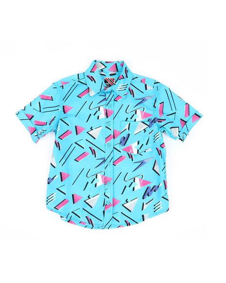 Arcade Styles - Geometrics Woven Shirt (8-18)