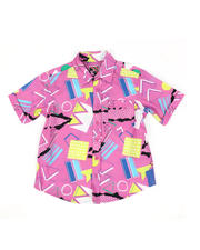 Button-downs - Geometrics Woven Shirt (8-18)-2469138