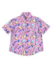 Button-downs - Geometrics Woven Shirt (8-18)-2469144