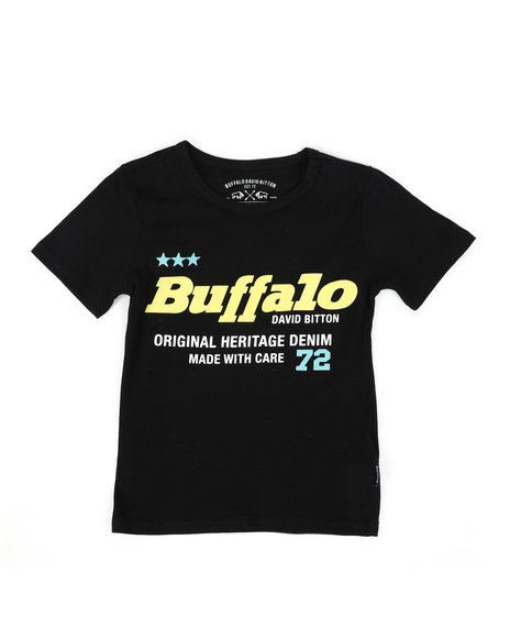 Buffalo - Buffalo Original Heritage Denim Graphic Jersey Tee (8-20)