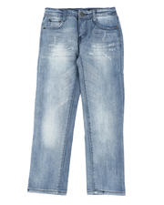 Buffalo - Washed 5 Pocket Skinny Jeans (8-20)-2469633