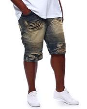 Makobi - Biker Shredded Shorts (B&T)-2470066