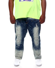 Makobi - Biker Jeans With Bleach Spots (B&T)-2465513
