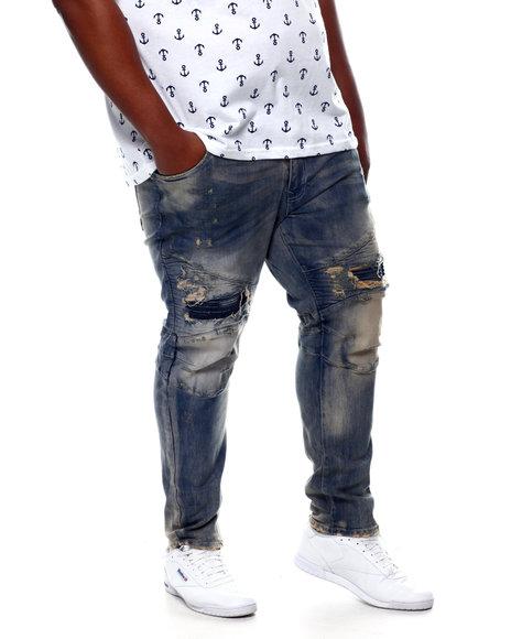 Buyers Picks - Distressed Moto Denim Jeans (B&T)
