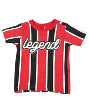 Sizes 2T-4T - Toddler - Vertical Striped Tee W/ Legend Script (2T-4T)-2466370
