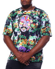 Big & Tall Faves - Men's Tie Dyed Graphic S/S Tee (B&T)-2469867