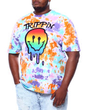 Big & Tall Faves - Men's Tie Dyed Graphic S/S Tee (B&T)-2469877