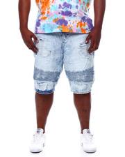 Makobi - Biker Shorts With Shredding (B&T)-2469888