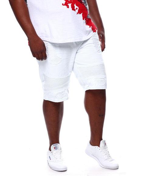 Makobi - Biker Shorts With Shredding (B&T)