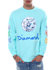 Diamond Supply Co - SPLASH SIGN L/S TEE-2470483