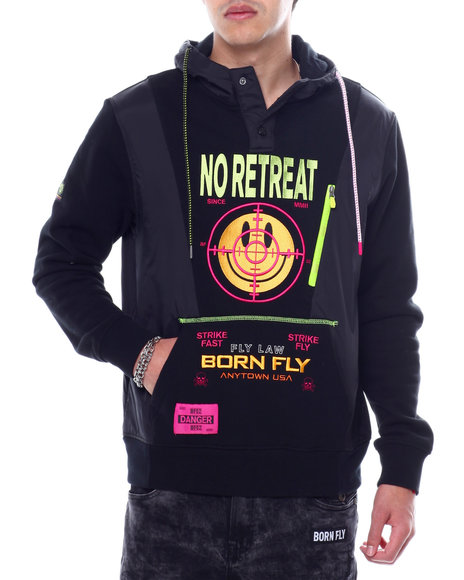 Born Fly - Barbwire Hoodie
