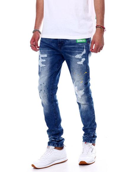 Born Fly - Trivial Pursuit Jeans