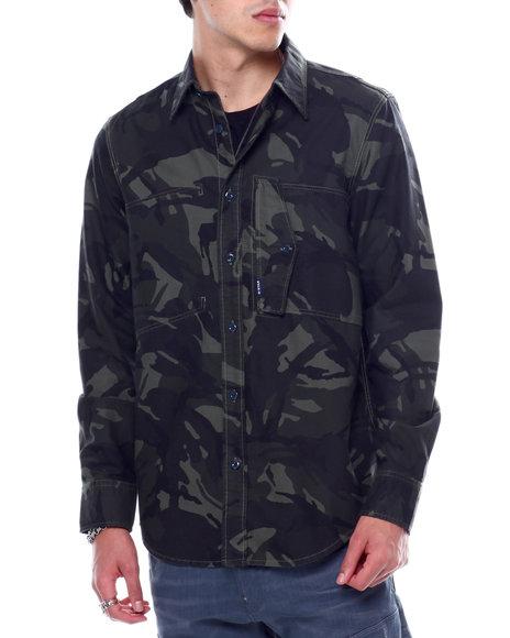 G-STAR - Scutar straight shirt ls Buttondown shirt