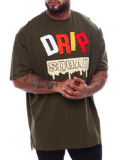 Big & Tall Faves - Drip Squad T-Shirt (B&T)-2470107