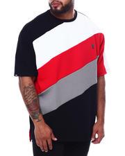 Short-Sleeve - Jersey Jacquard Angled T-Shirt (B&T)-2470136