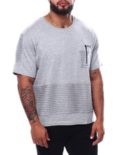 Buyers Picks - Stripe Tee W/Pocket (B&T)-2470790
