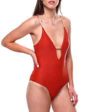 Swimwear - Deep Plunge One Piece-2471085