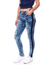 Jeans - TWO TONE SIDE ACID JEAN-2469282