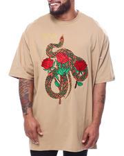 Short-Sleeve - Rose Snake Tee (B&T)-2470112