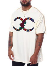 Big & Tall Faves - Rose Snake Tee (B&T)-2470144