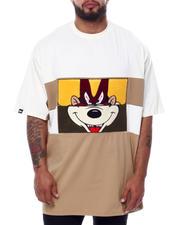 Makobi - Mixed Cartoon Face T-Shirt (B&T)-2470149