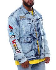 Big & Tall Faves - Kerplunk Denim Jacket (B&T)-2470780