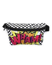 FYDELITY - Ultra-Slim Fanny Pack: Comic WHAM (Unisex)-2467704