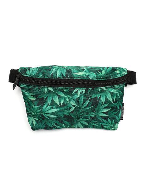 FYDELITY - Ultra-Slim Fanny Pack: Weed (Unisex)