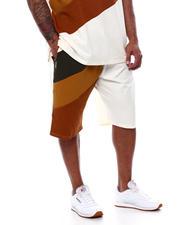 Makobi - Jersey Jacquard Angled Shorts (B&T)-2470092