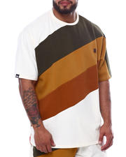Short-Sleeve - Jersey Jacquard Angled T-Shirt (B&T)-2470115