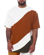 Men - Makobi Jacquard Wave S/S Tee (B&T)-2470131