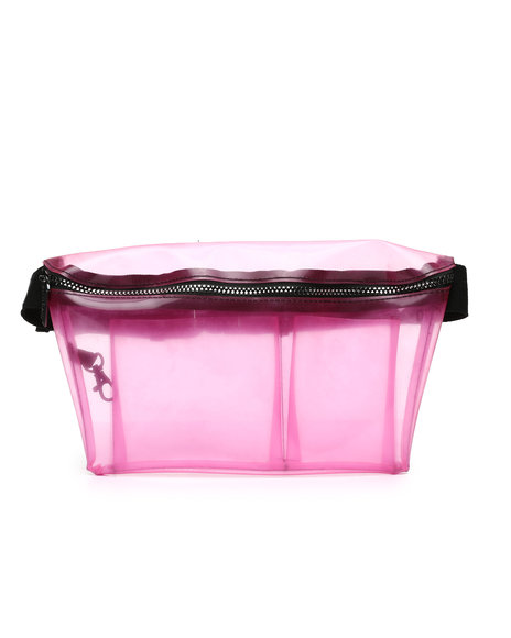 FYDELITY - XL Ultra-Slim Fanny Pack: CRYSTAL (Unisex)