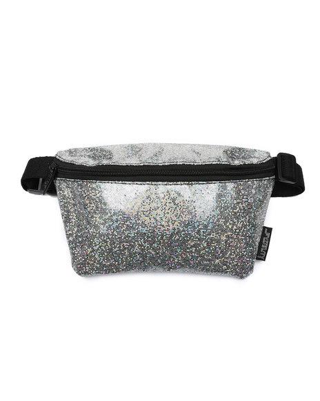 FYDELITY - Ultra-Slim Fanny Pack: GLAM Glitter (Unisex)