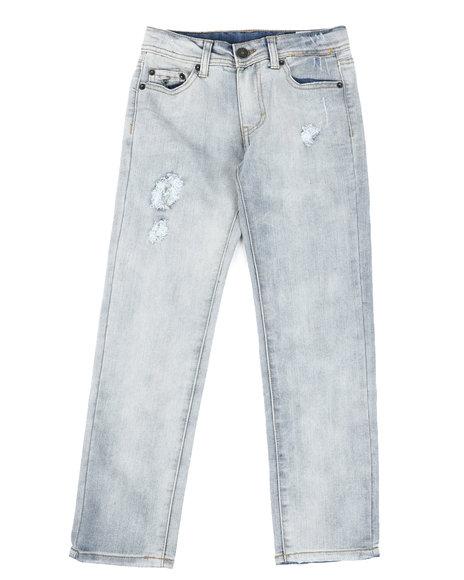 Buffalo - Distressed 5 Pocket Skinny Jeans (8-20)