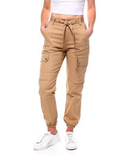 Fashion Lab - High Waist Cargo Pant W/Belt-2471129